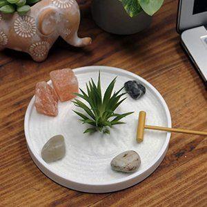 Mini Boho Meditation Zen Garden Circle Minimalist